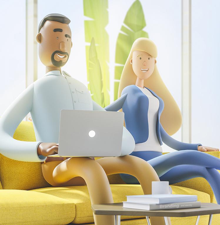 Unsere moderne und smarte Arbeitsplatzverwaltung